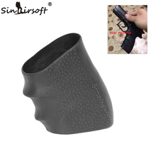 SINAIRSOFT Hot! Tactical Pistol Rubber Grip Glove Cover Sleeve Anti Slip for Most of Glock Handguns Airsoft Hunting Accessories