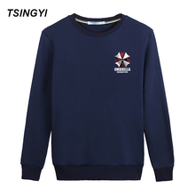 Tsingyi Character Umbrella and Letter Funny Hoodies Men Women Spring Autumn O-Neck Sudadera Poleron Hombre Hoodie Sweatshirt(China)