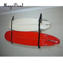 MagiDeal Polyester Surfboard Longboard Sling Wall Storage Strap / Rack System SUP Garage Hanger for Surfing Body Board Accessory
