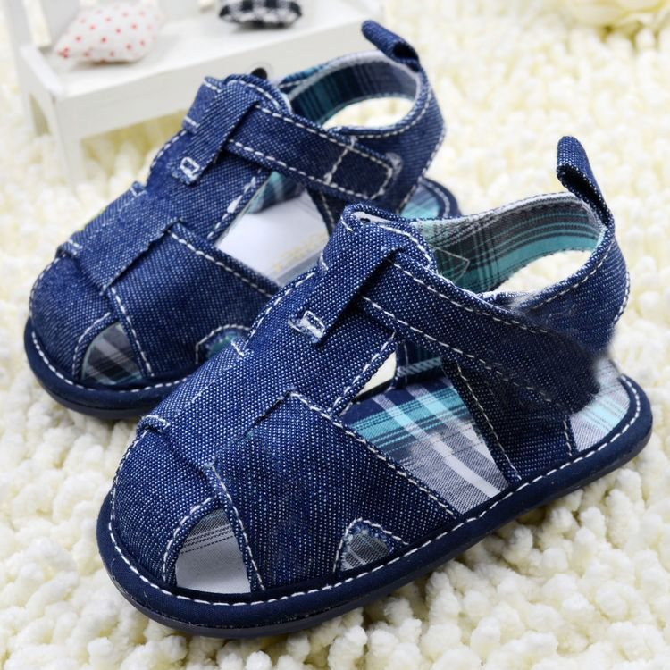 Summer Baby Boys Girl Classic Dark Blue Shoes Toddler Shoes<br><br>Aliexpress