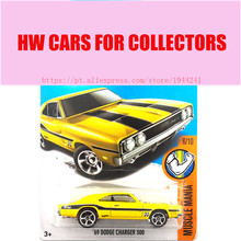 New Arrivals 2017 Hot Wheels 1:64 69 Dodge Charger 500 Metal Diecast Cars Collection Kids Toys Vehicle For Children Models(China)