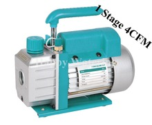 Single Stage Electric Vacuum Pump 4CFM 1/3HP Rotary Vane Deep HVAC Tool AC R410a R134 for Vacuum Packaging