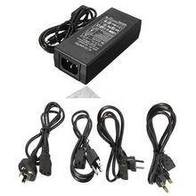 LED Driver AC DC Adapter 12V 5A Power Transformer EU US Plug UPS Driver For Led Strip Indoor And Computer Power Supply(China)