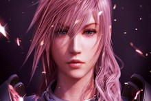 final fantasy xiii  2 girl portrait game fan art AT071 Living room Home wall modern art Decor Poster