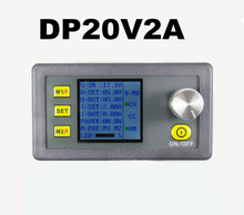 DP20V2A Programmable Power Supply 0-20V/2A DC With Constant Current And Constant Voltage Regulated Power LCD display voltmeter(China)
