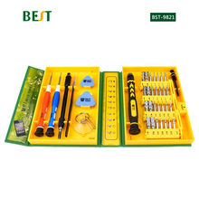 BST-8921 38 in 1 Multipurpose Screwdriver Set Repair Opening Tool Kit Fix For iPhone/ laptop/ smartphone/ watch with Box Case