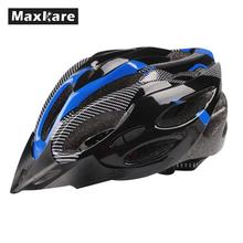 Maxkare Cool Outdoor Sport Cycling Helmet Adjustable Bicycle Bike Road Safety Unisex Shockproof ultralight with Visor 3 Colors