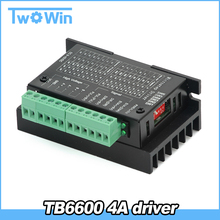 TB6600 stepper motor Driver Controller 4A 9~42V TTL 16 NEW upgraded version of the 42/57/86 stepper motor Micro-Step CNC 1 Axis(China)