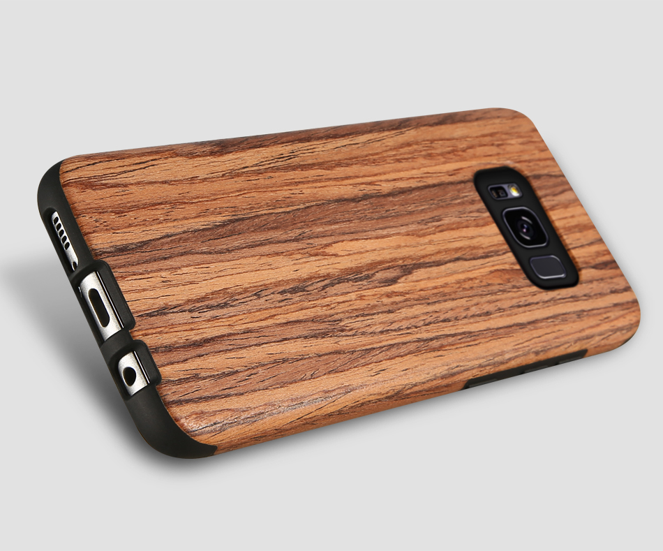wood pattern soft tpu case for samsung s8 s8 plus (15)