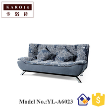 Simple small size double washable cloth sofa bed 1.8 meters multi-purpose folding dual-use sofa bed 1.5 meters(China)