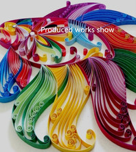 260 X Colorful Quilling Paper Origami Paper DIY Hand Craft Tool paper 3/5/10mm Width Craft DIY Paper Gift 26 colors