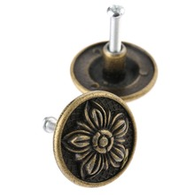 31mmX16mm Antique Bronze Cabinet Knob Handle Kitchen Closet Dresser Pulls Drawer Dressing Box Jewelry Box Handles(China)