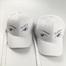 BLUE eyes simple style beaseball caps unisex hats for sports and hip hop dancer singer summer traveling  popular caps girls boys