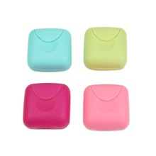 Mini Soap Dish Case Holder Container Box Portable Travel Outdoor CampingFreeshipping -Y103