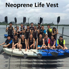 Neoprene Surfing Floating Life Vest Rafting Snorkeling PFD Inflatable Kids/Women/Men Life Jacket Swimwear Swimming jacket Life(China)