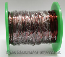 0.9mm Magnet Wire 50m Enameled Copper wire Magnetic Coil Winding Item specifics QZY-2-180 High temperature Copper Wire 50m(China)