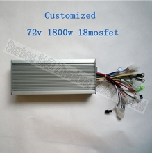 72V 1800W 18 mosfet motor brushless controller for electric bike/ BLDC high quality hub motor controller G-K023