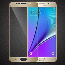 0.2mm Thinnest Tempered Glass Screen Protector Full Coverage for samsung galaxy note 5, free shipping