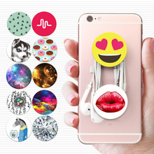 100PCS/Lot Popsockets Anti-fall Phone Smartphone Desk stand Grip Socket Car Support For Apple Samsung Xiaomi Action Figures Toys