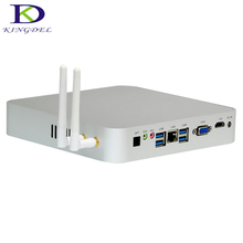 Newest Fanless Mini PC Barebone Desktop Computer Intel Celeron N3150 Quad Core WiFi HDMI VGA 1080P