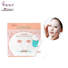 LAMEILA face mask sheet non-woven mask paper mask cloth ultra-thin breathable water-proof allergy-free beauty mask(China)