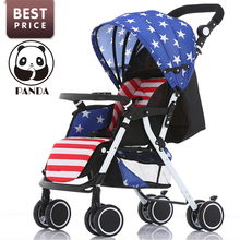 2017 Babypanda New baby tricycle children stitching  fashion strollers for babies super light children bicycles stroller mini