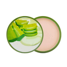 New Natural Aloe Vera Moisturizing Smooth Foundation Pressed Powder Makeup Concealer Pores Cover Face Whitening Brighten Powder(China)