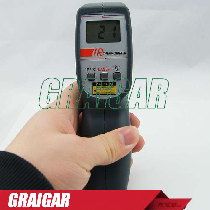 AZ8859 non contact infrared thermometer Gun Type IR Thermometer Digital infrared thermometer -20~420 degree(China (Mainland))