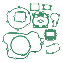 For KAWASAKI KX125 KX 125 2001 2002 Motorbike Engines Crankcase Covers Cylinder Gasket Kit