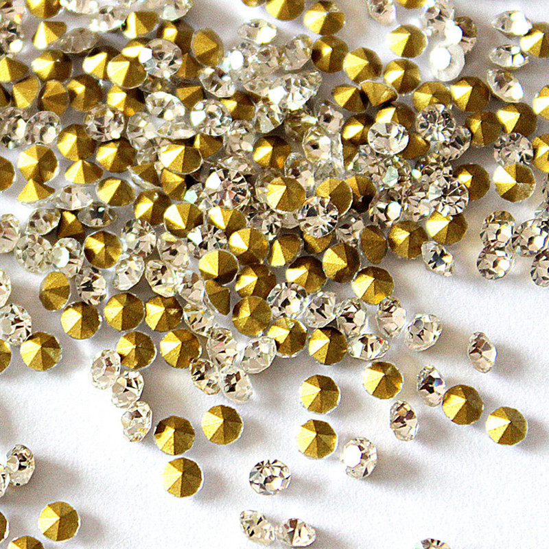 Faux Jewels,DIY Fake Diamond Jewelry Accessories,1440Pcs<br>