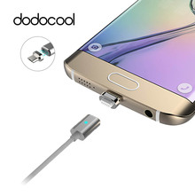 dodocool Magnetic Cable Metal Micro USB Magnetic Cable Data Sync Charger For Samsung S7 S6 huawei xiaomi Powerline For LG htc(China)