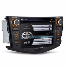 "7"" Special Car DVD for Toyota RAV4 2006 2007 2008 2009 2010 2011 2012 with Toyota Original User Interface/Appearance(China)"