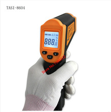 TASI-8604 -50~350Celsius Non-contact infrared thermometer industrial infrared temperature gun infrared thermometer Free shipping