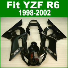top-selling Fairings For YAMAHA R6 98 99 01 02 Fairing kit ( black ) free customize ll03