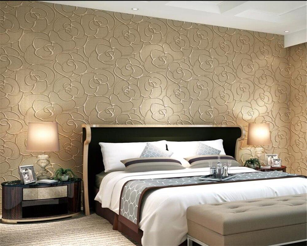 Beibehang behang European 3D Relief Wallpaper Bedroom Living Room TV Wall Background wallpaper for walls 3 d papel de parede<br>