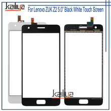 For Lenovo ZUK Z2 Touch Screen Digitizer Assembly Replacement Black White 5.0 inches For Lenovo ZUK Z2 Mobile Phone(China)