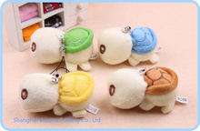 10PCS Kawaii Mini 5*4CM Tortoise Plush Stuffed TOY DOLL - Phone Charm Strap Lanyard Pendant TOY DOLL ; BAG Key Chain