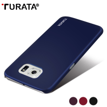 TURATA Ultra Slim Case for Samsung Galaxy S6 G920, Fashion Smooth Surface Perfect Touch PC Protective Cover for Galaxy S6 Case(China)