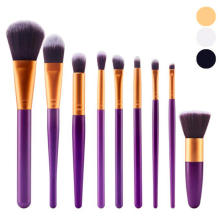 New listing 9Pcs Cosmetic Brush Makeup Brush Sets Kits Tools  Personalized makeup brush