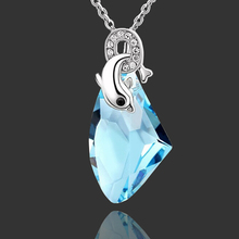 2015 New fashion natural stone pendant necklace quartz crystal pendant for women jewelry Accessories Wholesale LQ
