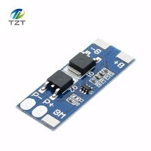 1PCS 2 series 7.4V lithium battery protection board 8A working current 15A current limit/Overcharge discharge protection(China)