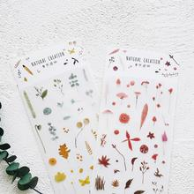 Colorful Creative Various Designs Decorative Stickers For Phone Diary Sticker Scrapbook Decoration PVC Stationery Stickers(China)