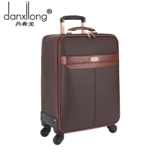 DANXILONG 20 22 Inch Rolling Luggage Business pu Travel Wheels For Suitcases Waterproof High Quality Trolley Case Large Capacity