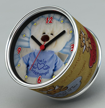 2014 New DIY Teddy Bear Design Magnetic Cheap Wall Clocks,Cheap Desk Clocks,Cheap Table Function Clocks in Free Shipping(China)