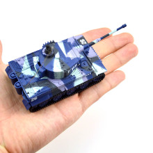 New High Quality 1:72 Vivid High Simulated Great Wall 2117 RC Remote Control Tank Toy with 4 colors Free Shipping
