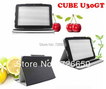 For Cube u30gt Black 10.1inch Stand luxury leather caseTablet pc(China)