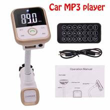 Mp3 player car kit Wireless Bluetooth Handsfree FM Transmitter Support SD/MMC memory card USB flash drive suitable for all cars(China)