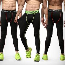 2016Men's Basketball football pants sports trousers quick-drying breathable fitness jogging leggings pants compression pantsS-XL