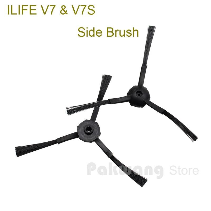 Original ILIFE V7 V7S Robot Vacuum Cleaner Side brush 2 pcs from factory<br><br>Aliexpress