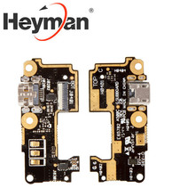 Heyman Flat Cable for Asus ZenFone 5 (A500CG) Cell Phone, (charge connector, microphone, with components) Free shipping(China)